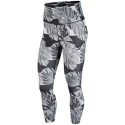 textil Dam Leggings Nike Fast Svarta, Gråa