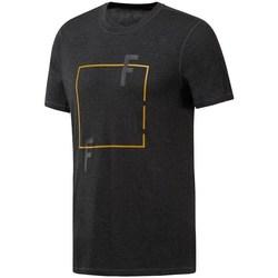 textil Herr T-shirts Reebok Sport Crossfit Move Tee Svarta