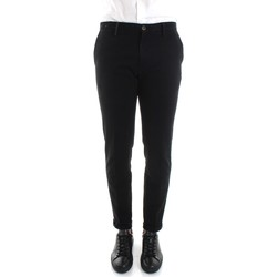 textil Herr Chinos / Carrot jeans Re-hash P249-2076 Black