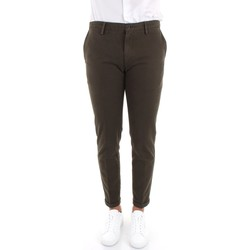 textil Herr Chinos / Carrot jeans Re-hash P249-2076 Green