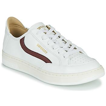 Skor Herr Sneakers Superdry BASKET LUX LOW TRAINER Vit
