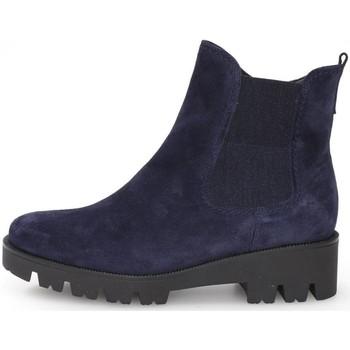Skor Dam Boots Gabor Davos Booties Marine Blå
