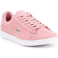 Skor Dam Sneakers Lacoste Carnaby Evo Rosa