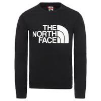 textil Pojkar Sweatshirts The North Face DREW PEAK LIGHT CREW Svart
