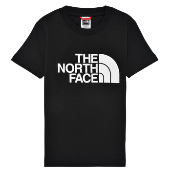 textil Pojkar T-shirts The North Face EASY TEE Svart