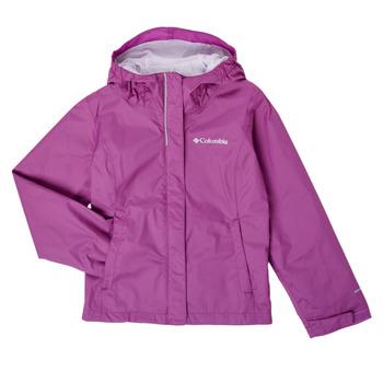 textil Flickor Vindjackor Columbia ARCADIA JACKET Violett
