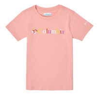 textil Flickor T-shirts Columbia SWEET PINES GRAPHIC Rosa