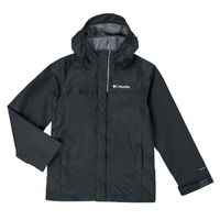 textil Pojkar Vindjackor Columbia WATERTIGHT JACKET Svart