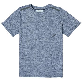 textil Pojkar T-shirts Columbia TECH TREK Marin