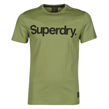 textil Herr T-shirts Superdry MILITARY GRAPHIC TEE 185 Kaki