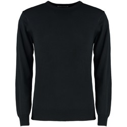 textil Herr Sweatshirts Kustom Kit K253 Marinblått