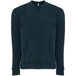 textil Sweatshirts Next Level NX9001 Marinblått