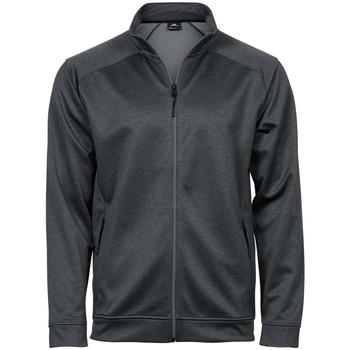 textil Sweatjackets Tee Jays T5602 Mörkgrå melange