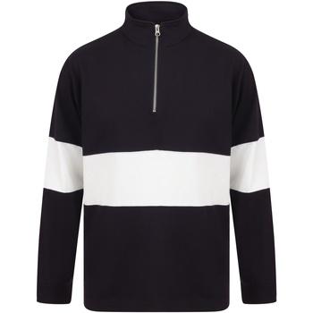 textil Herr Tröjor Front Row FR06M Marinblått/vit