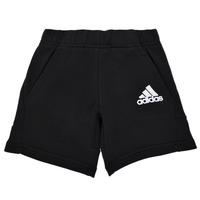 textil Pojkar Shorts / Bermudas adidas Performance B BOS SHORT Svart