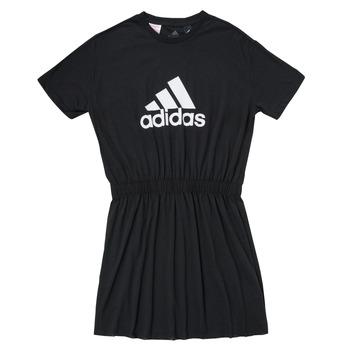 textil Flickor Korta klänningar adidas Performance G DANCE DRESS Svart