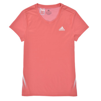 textil Flickor T-shirts adidas Performance G A.R. 3S TEE Rosa