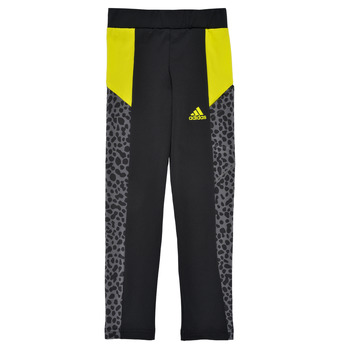 textil Flickor Leggings adidas Performance G LEO TIG Svart