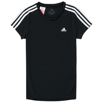textil Flickor T-shirts adidas Performance G 3S T Svart