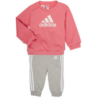 textil Flickor Set adidas Performance BOS JOG FT Rosa