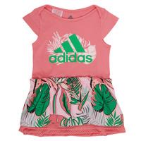 textil Flickor Korta klänningar adidas Performance FLOWER DRESS Rosa