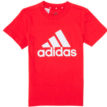 textil Pojkar T-shirts adidas Performance B BL T Röd