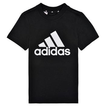 textil Pojkar T-shirts adidas Performance B BL T Svart