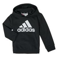 textil Pojkar Sweatshirts adidas Performance B BL HD Svart