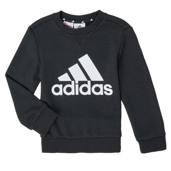 textil Pojkar Sweatshirts adidas Performance B BL SWT Svart