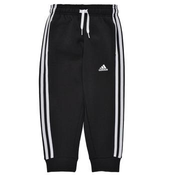 textil Pojkar Joggingbyxor adidas Performance B 3S FL C PT Svart