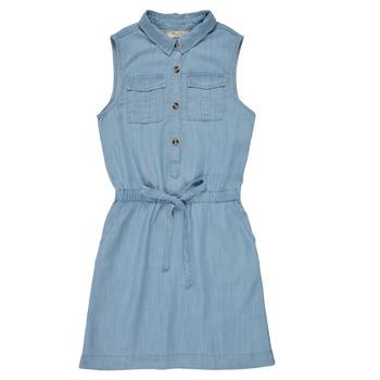 textil Flickor Korta klänningar Deeluxe LALI Blå