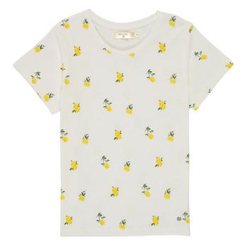 textil Flickor T-shirts Deeluxe NADY Vit