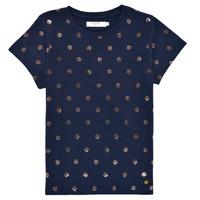 textil Flickor T-shirts Deeluxe MAYA Marin