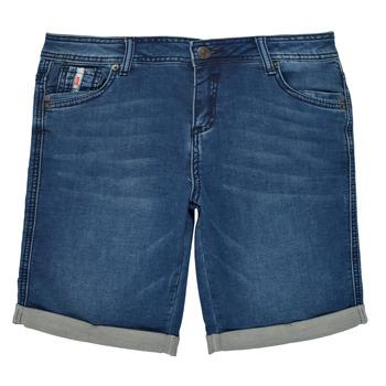 textil Pojkar Shorts / Bermudas Deeluxe BART Blå