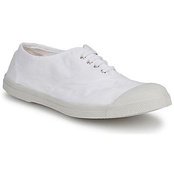 Skor Herr Sneakers Bensimon TENNIS LACET Vit