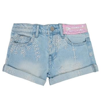 textil Flickor Shorts / Bermudas Desigual 21SGDD05-5010 Blå