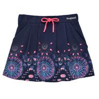 textil Flickor Kjolar Desigual 21SGFK03-5000 Blå