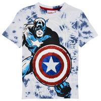 textil Pojkar T-shirts Desigual 21SBTK09-5036 Flerfärgad