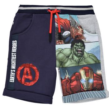 textil Pojkar Shorts / Bermudas Desigual 21SBPK03-2047 Flerfärgad