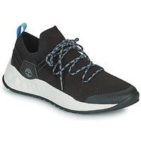 Skor Herr Sneakers Timberland SOLAR WAVE LOW KNIT Svart