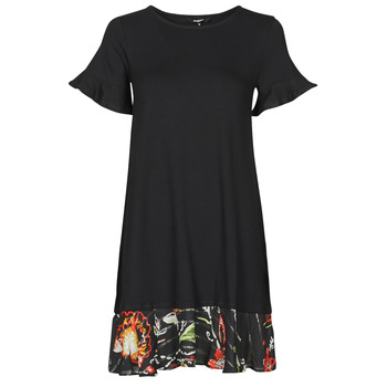 textil Dam Korta klänningar Desigual KALI Svart
