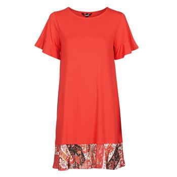 textil Dam Korta klänningar Desigual KALI Röd