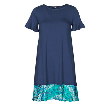 textil Dam Korta klänningar Desigual KALI Marin