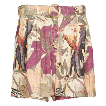 textil Dam Shorts / Bermudas Desigual ETNICAN Flerfärgad
