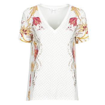 textil Dam T-shirts Desigual PRAGA Vit