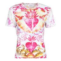 textil Dam T-shirts Desigual TATTOO Flerfärgad