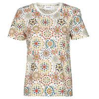 textil Dam T-shirts Desigual LYON Vit