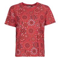 textil Dam T-shirts Desigual LYON Röd