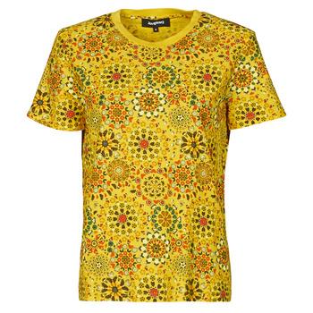 textil Dam T-shirts Desigual LYON Gul