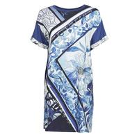 textil Dam Korta klänningar Desigual SOLIMAR Blå